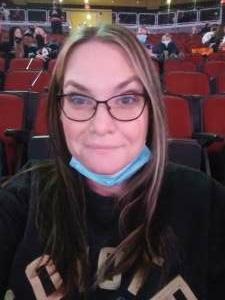 Kristen attended Arizona Coyotes vs. Anaheim Ducks on Feb 24th 2021 via VetTix