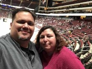 Tony P. attended Arizona Coyotes vs. Anaheim Ducks on Feb 24th 2021 via VetTix