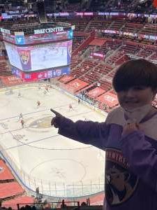 Barb attended Florida Panthers vs. Dallas Stars - NHL on Feb 25th 2021 via VetTix