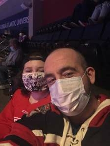 Patrick  attended Florida Panthers vs. Dallas Stars - NHL on Feb 25th 2021 via VetTix