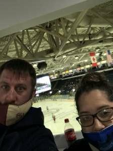 Ben Linscott attended Florida Everblades vs. South Carolina Stingrays - ECHL on Mar 10th 2021 via VetTix