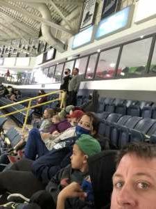 Ben attended Florida Everblades vs. Orlando Solar Bears- ECHL on Mar 13th 2021 via VetTix