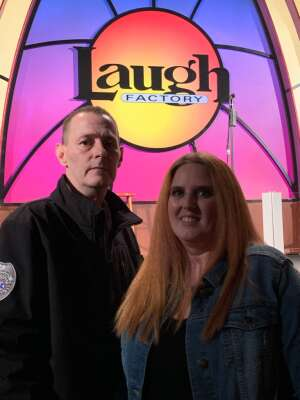 Eric R. attended Laugh Factory Presents Chicago's Best Stand Up on Mar 20th 2021 via VetTix