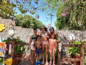 Rochelle attended Golfland Sunsplash - Single Day Water Park Admission on Mar 8th 2021 via VetTix