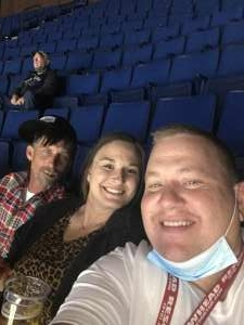 Kim Novak attended Tulsa Oilers vs. Kansas City Mavericks - ECHL on Mar 31st 2021 via VetTix