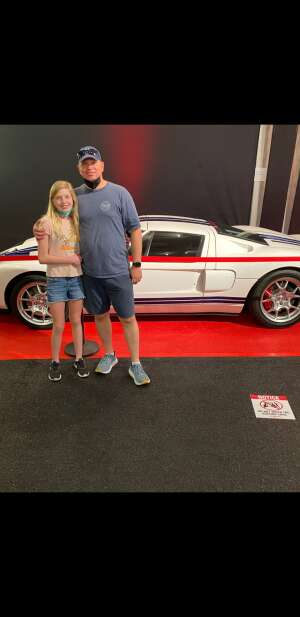 Rick attended Barrett-jackson 2021 Scottsdale Auction on Mar 20th 2021 via VetTix