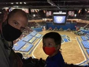 Trip attended Monster Jam on Apr 11th 2021 via VetTix