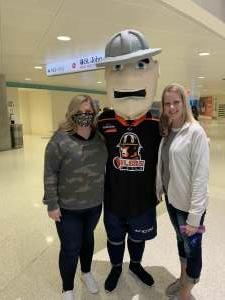 Kim attended Tulsa Oilers vs. Kansas City Mavericks - ECHL on Apr 3rd 2021 via VetTix