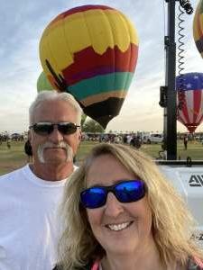 Mary attended Arizona Balloon Classic on Apr 30th 2021 via VetTix