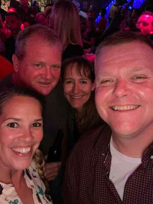 Chris attended John Michael Montgomery on Apr 9th 2021 via VetTix