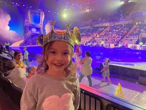 JT attended Disney On Ice presents Dream Big on Apr 9th 2021 via VetTix