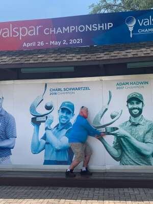 ASPMEDIC attended 2021 Valspar Championship - PGA on May 1st 2021 via VetTix