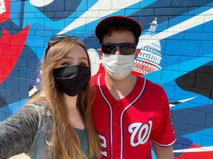 Brandon attended Washington Nationals vs. Atlanta Braves - MLB on Apr 7th 2021 via VetTix