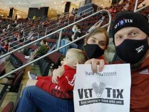 Sean attended New Jersey Devils vs. Washington Capitals - NHL on Apr 4th 2021 via VetTix