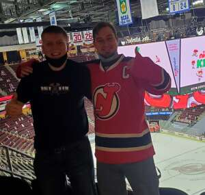 Web attended New Jersey Devils vs. Washington Capitals - NHL on Apr 4th 2021 via VetTix