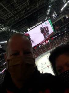 Ra414WPD attended New Jersey Devils vs. Washington Capitals - NHL on Apr 4th 2021 via VetTix