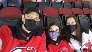 Mike attended New Jersey Devils vs. Buffalo Sabres - NHL on Apr 6th 2021 via VetTix