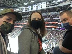 Pat attended New Jersey Devils vs. Buffalo Sabres - NHL on Apr 6th 2021 via VetTix