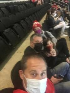 Marc attended New Jersey Devils vs. Buffalo Sabres - NHL on Apr 6th 2021 via VetTix