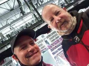 ra414WPD attended New Jersey Devils vs. Buffalo Sabres - NHL on Apr 6th 2021 via VetTix