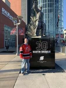 Brian attended New Jersey Devils vs. Buffalo Sabres - NHL on Apr 6th 2021 via VetTix
