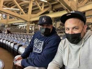 Steve attended New York Yankees vs. Baltimore Orioles - MLB on Apr 5th 2021 via VetTix