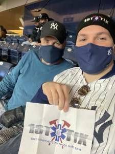Anthony attended New York Yankees vs. Baltimore Orioles - MLB on Apr 6th 2021 via VetTix