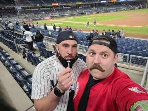 JimmyD attended New York Yankees vs. Baltimore Orioles - MLB on Apr 7th 2021 via VetTix