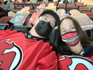 Eileen attended New Jersey Devils vs. Pittsburgh Penguins - NHL on Apr 11th 2021 via VetTix