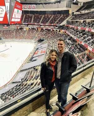 Brian k attended New Jersey Devils vs. Pittsburgh Penguins - NHL on Apr 11th 2021 via VetTix