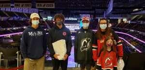 Laura attended New Jersey Devils vs. Pittsburgh Penguins - NHL on Apr 11th 2021 via VetTix