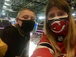 Carolyn attended New Jersey Devils vs. Pittsburgh Penguins - NHL on Apr 11th 2021 via VetTix
