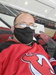 Charles attended New Jersey Devils vs. Pittsburgh Penguins - NHL on Apr 11th 2021 via VetTix