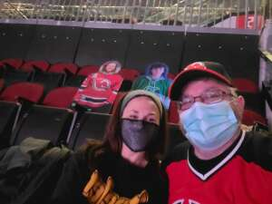 Jason attended New Jersey Devils vs. Pittsburgh Penguins - NHL on Apr 11th 2021 via VetTix