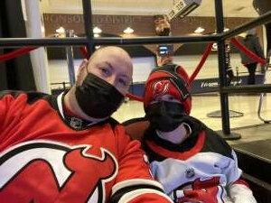 James attended New Jersey Devils vs. Pittsburgh Penguins - NHL on Apr 11th 2021 via VetTix