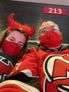 Chuck S attended New Jersey Devils vs. Pittsburgh Penguins - NHL on Apr 9th 2021 via VetTix