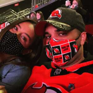Liz attended New Jersey Devils vs. Pittsburgh Penguins - NHL on Apr 9th 2021 via VetTix