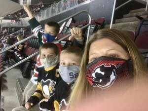 Carolyn attended New Jersey Devils vs. Pittsburgh Penguins - NHL on Apr 9th 2021 via VetTix