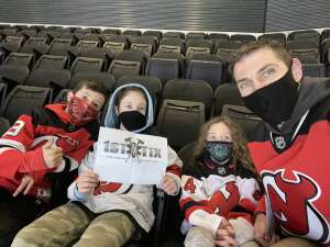 Brian attended New Jersey Devils vs. Pittsburgh Penguins - NHL on Apr 9th 2021 via VetTix