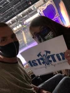 Cass  attended Disney on Ice Presents Dream Big on Apr 21st 2021 via VetTix