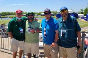 Justin attended Zurich Classic of New Orleans - PGA - Weekly Passes on Apr 21st 2021 via VetTix