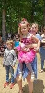Josie attended Georgia Renaissance Festival on May 1st 2021 via VetTix