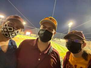 John H attended Arizona State University Sun Devils vs. Stanford on Apr 16th 2021 via VetTix