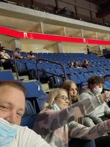 Kim attended Tulsa Oilers vs. Rapid City Rush - ECHL on Apr 24th 2021 via VetTix