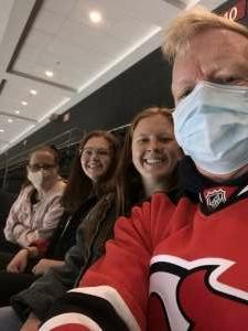 Tmal  attended New Jersey Devils vs. Philadelphia Flyers - NHL on Apr 27th 2021 via VetTix