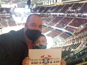 Rusty attended Cleveland Monsters vs. Chicago Wolves - AHL on Apr 24th 2021 via VetTix