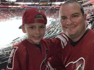 Robby attended Arizona Coyotes vs. Vegas Golden Knights - NHL on Apr 30th 2021 via VetTix