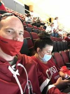 Kyle Golden attended Arizona Coyotes vs. Vegas Golden Knights - NHL on Apr 30th 2021 via VetTix