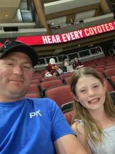 Justin  attended Arizona Coyotes vs. Vegas Golden Knights - NHL on May 1st 2021 via VetTix