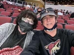 Richard attended Arizona Coyotes vs. Vegas Golden Knights - NHL on May 1st 2021 via VetTix
